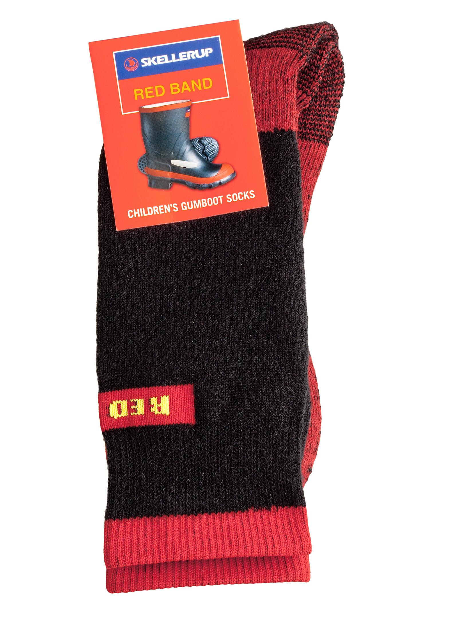Image of Skellerup Red Band Childrens Gumboot Sock